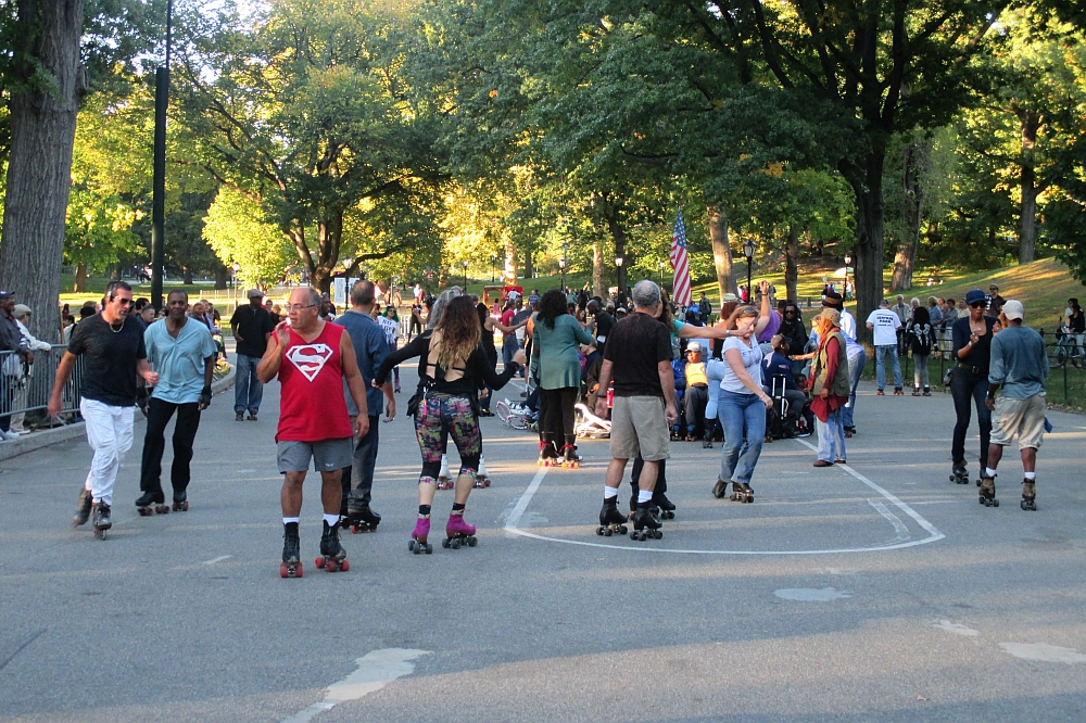 Central Park Skate Circle NYC