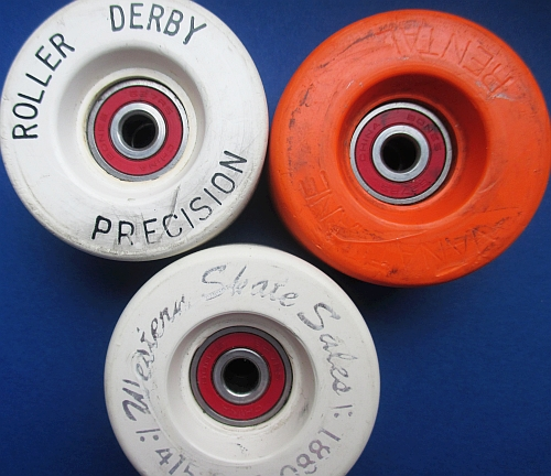 "Vanathane rentals, and produced for ""Roller Derby"" and ""Western Skate Sales"""