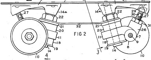 Charles Snyder's patented skates