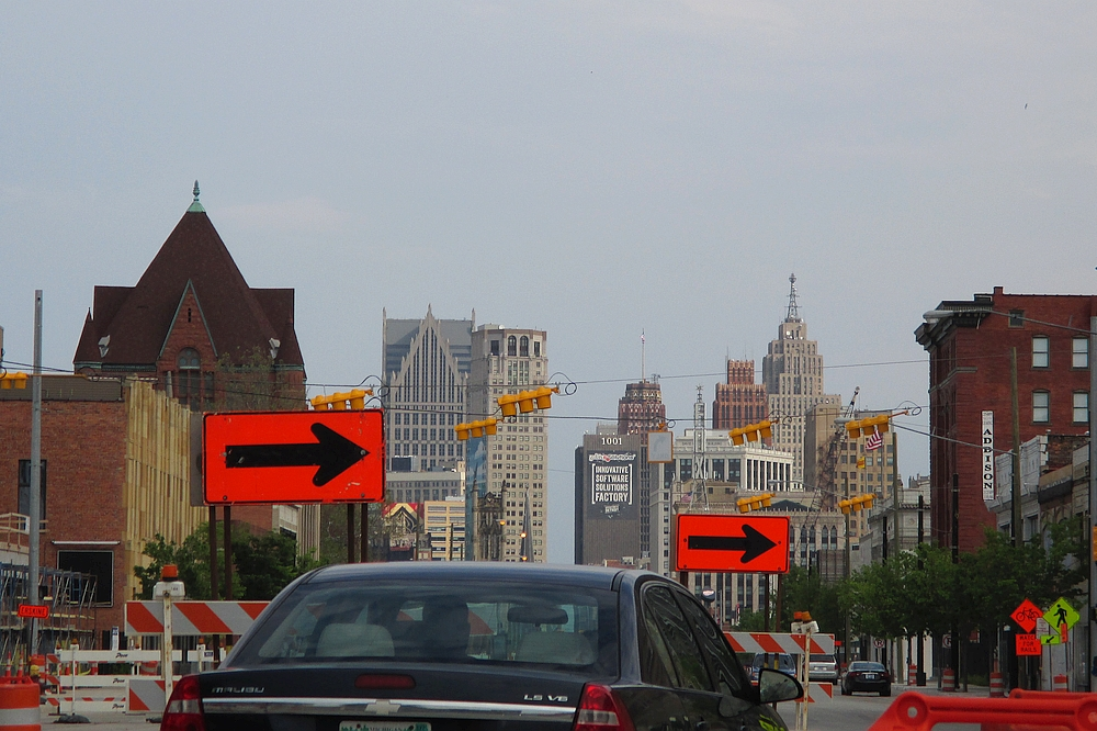 Woodward Avenue in Detroit