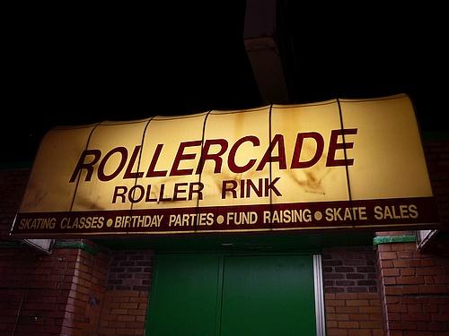 Rollercade Entrance