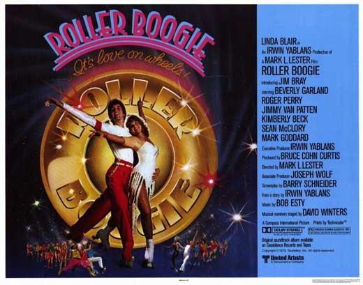 Roller Boogie. Halfsize Poster.